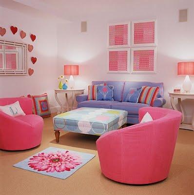 Pre-Teen Girls Room - Design Dazzle