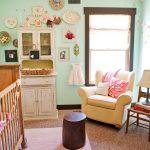 Pink and Mint Woodland Nursery