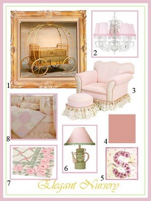 Design Plan Elegant Nursery