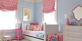Girl Rooms: Featuring Blue Walls