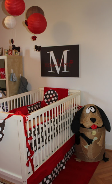 Puppy Theme Baby Nursery by Jen! Love the colors and sweet puppies! Who doesn't love puppies??!!