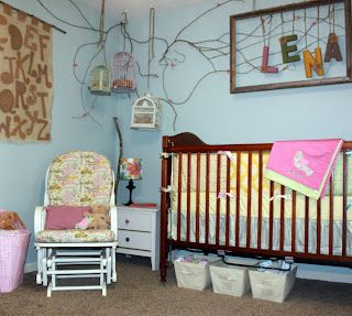 Baby Nursery: Repurposed And Handmade