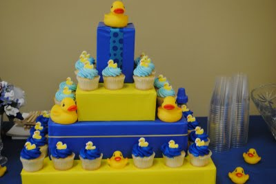 Baby Birthday Cakes on Your Guests Will Go    Quackers    Over This Amazing Cake