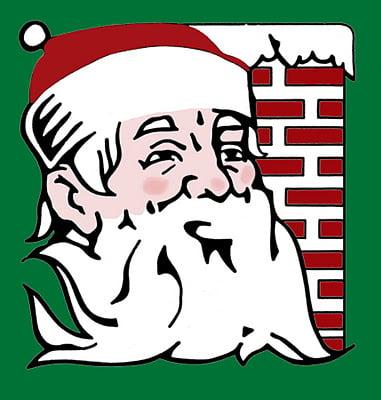 Santa Freebie Print! Featured on Design Dazzle