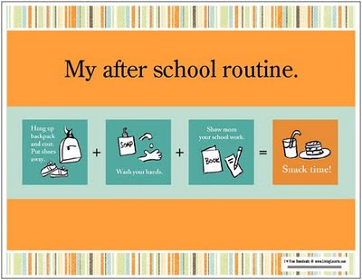 Back to School Routines - FREE PRINTABLES