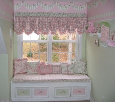 Shabby Chic Girl's Room - Design Dazzle