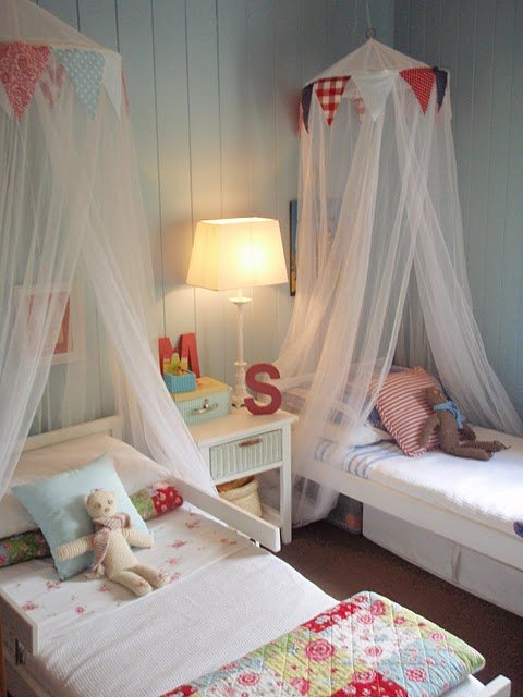 Boy girl rooms for Shared boy and girl room ideas