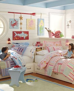 Shared kids rooms boy girl rooms design dazzle for Girl and boy shared bedroom ideas