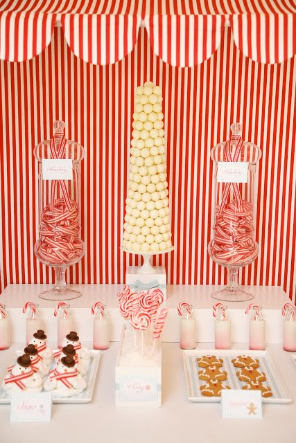 Christmas CandyLand Table featured on Design Dazzle