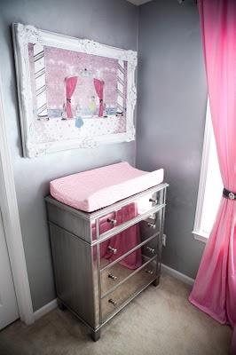 Vintage Glam Nursery Design Dazzle