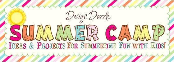 Design Dazzle Summer Camp Banner