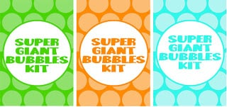 Free printables on how to make giant bubbles! - Design Dazzle