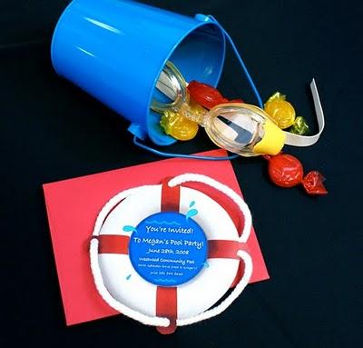 Smorgasbord of Creative Party Invitations Design Dazzle – Creative Pool Party Invitations