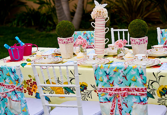 Garden Tea Party - Design Dazzle