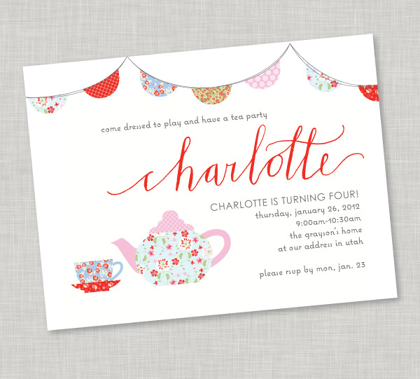 Sweet Girlie Vintage Tea Party Design Dazzle