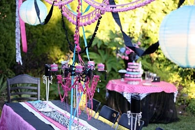 Designed By Dad Teen Girls Birthday Party Design Dazzle