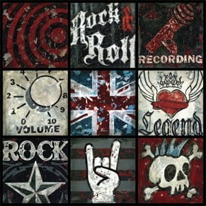 More Rock N Roll Decor Ideas