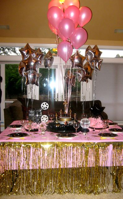 Party Themes For Teenagers Girl Should Have Used The Darker Pink It Looks Better Than Light