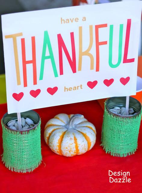 free Thanksgiving printables banner