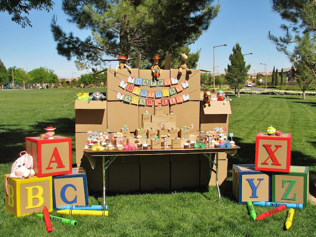 Fabulously Fun Toy Story Party! The details in this party are amazing! & Toy Story Party - Design Dazzle