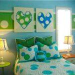 Polka Dot Girls Tween Room