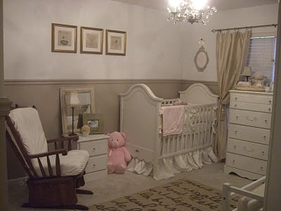 A Nursery For Twins Boy And Girl Design Dazzle