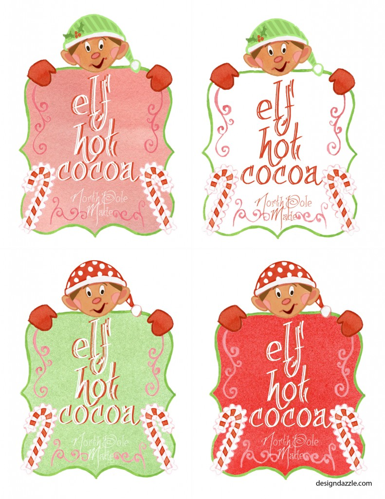 Christmas Tag Design Ideas