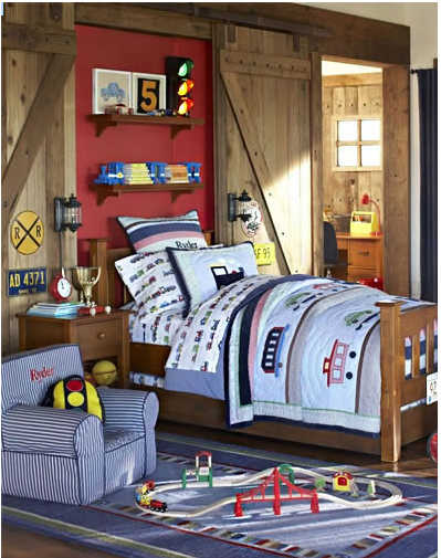 Kids Room Ideas Trains Design Dazzle