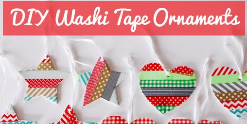 Washi Tape ornaments finished copy