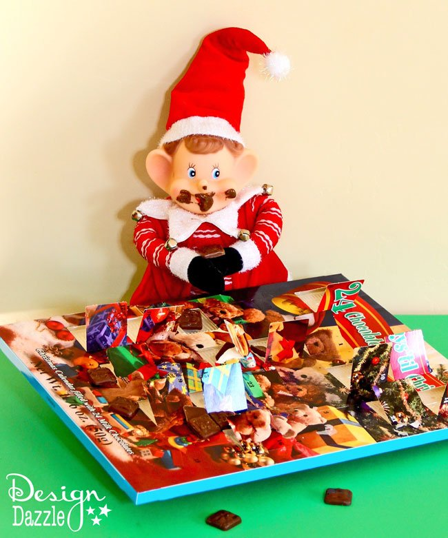 Elf on the Shelf is fun for all to participate! Here are some great Elf Ideas for this Christmas! Featured on Design Dazzle