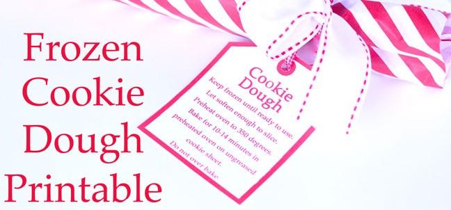 Christmas Wonderful: Cookie Dough Gift & Printable - Design Dazzle