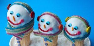 Christmas Wonderful: Snowman Cones