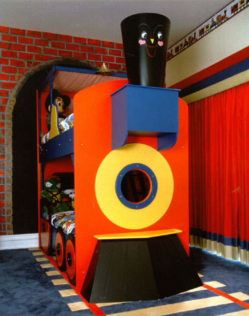 Train Themed Kids Rooms That Will Makes Any Dreams Come True Featured