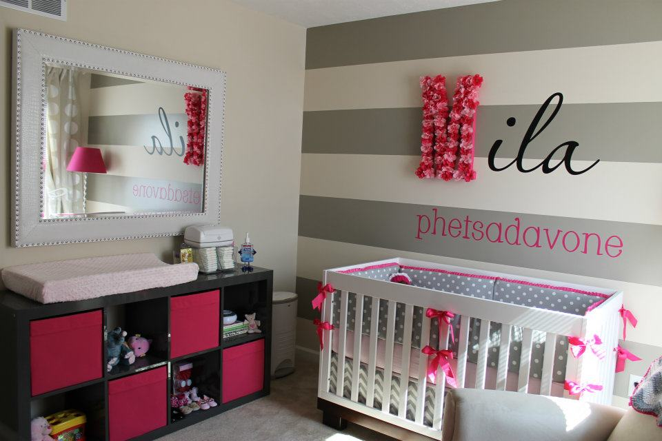 girls modern baby nursery diy nursery wall art