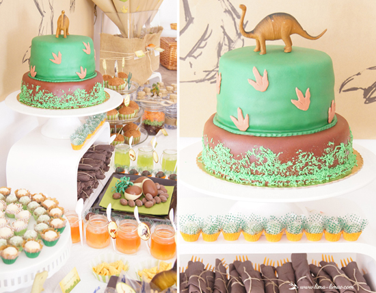 Larger than Life DINO Party that is full of killer treats!!