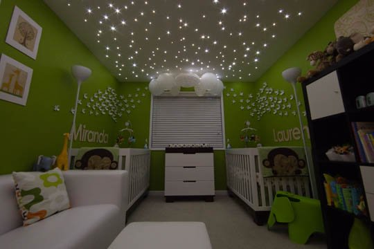 Amazing Ideas for Kids Room Ceilings! So whimsical.