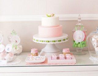 Vintage Pink Nursery Baby Shower
