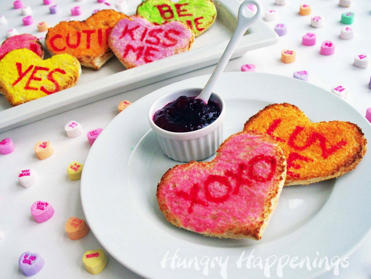Valentines Day Toast