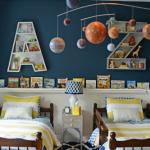 Black And White Contemporary Shared Boys Room Design Dazzle