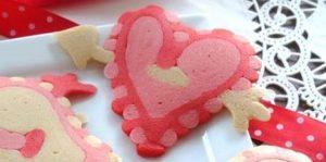 valentines day pancakes