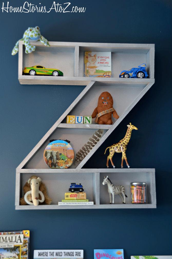Z bookshelf