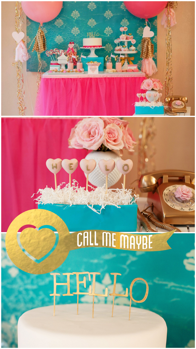 Call me Maybe Valentine's Day parties for kids