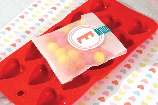 Candy Factory Party place setting