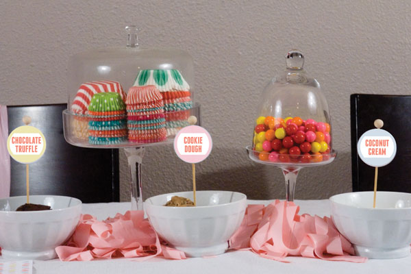 Candy Factory Party table