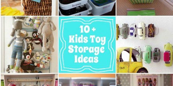 10 Kids toy storage ideas