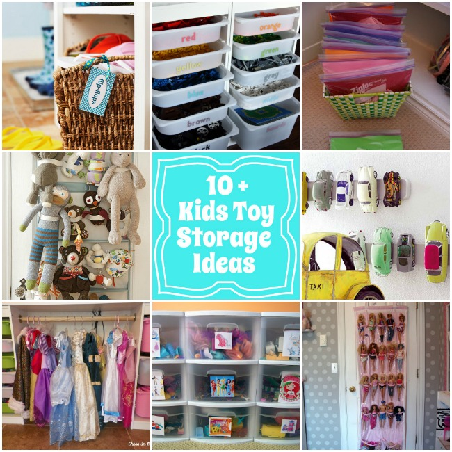 10 Kids toy storage ideas