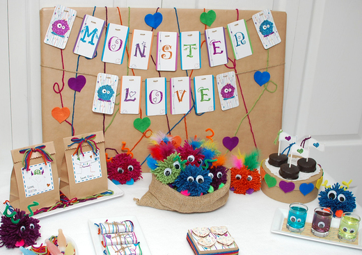 Monster Love Valentine's day party