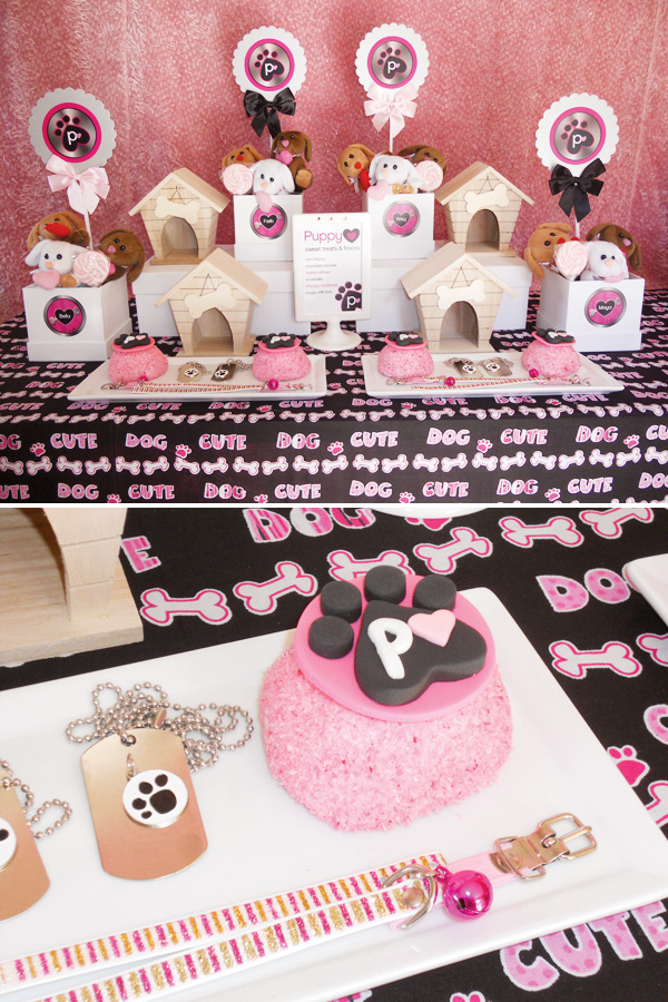 Puppy Luv Valentine's Day party
