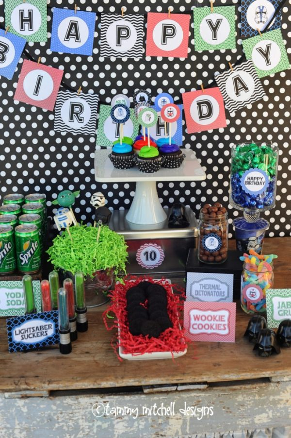LOVE these Star Wars party ideas!