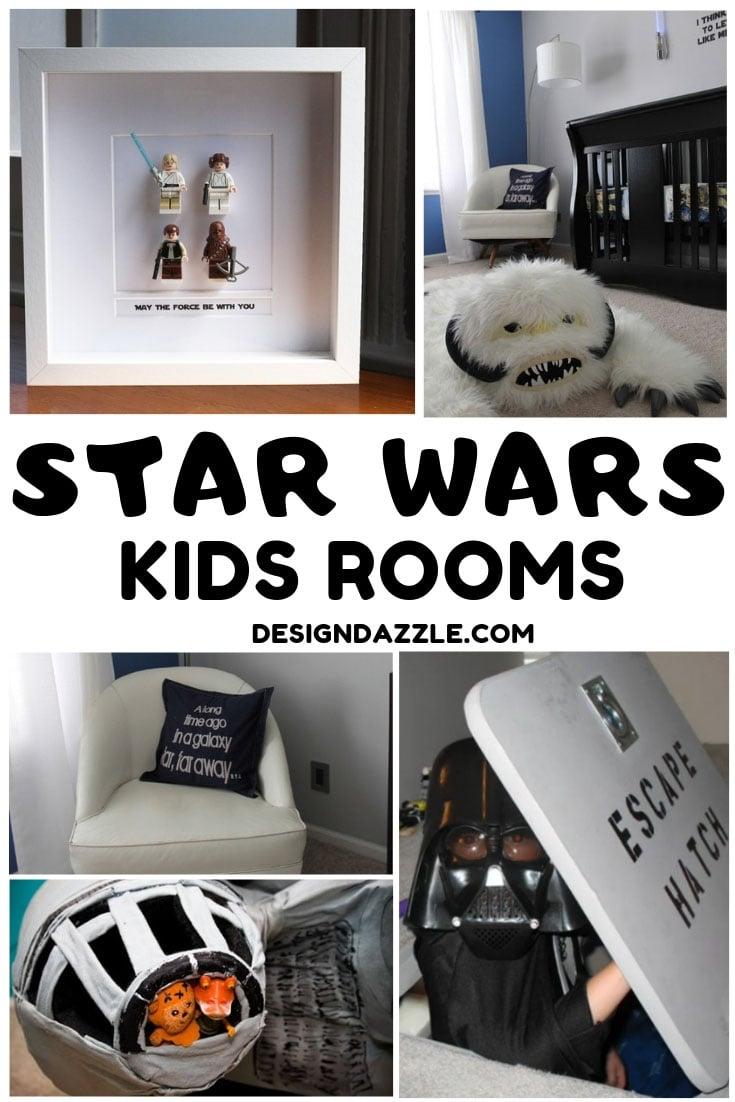 Star wars kids rooms